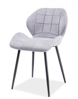 Tapicerowane tkaniną krzesło Hals