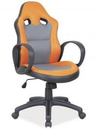 Fotel biurowy z wysokim oparciem Q-054