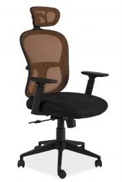 Fotel biurowy Q-116 z tkaniny membranowej