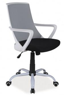 Krzesło obrotowe Q-248 z tkaniny membranowej