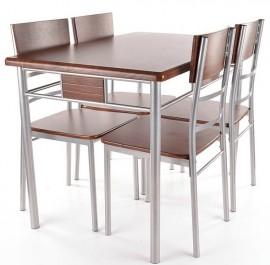 Zestaw stół z krzesłami Play