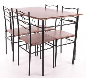Zestaw stół z krzesłami Esprit