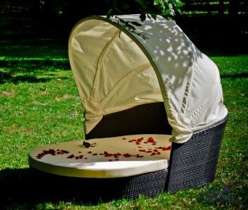 Łóżko do ogrodu Tacito