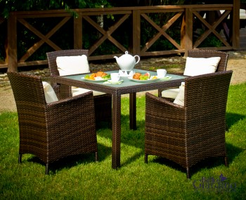 Zestaw stołowy ogrodowy Pazzo