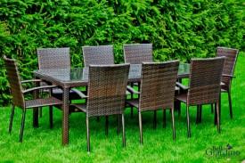 Zestaw mebli ogrodowych Sottile