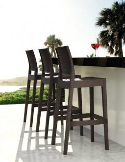 Krzesło barowe ogrodowe Jamaica