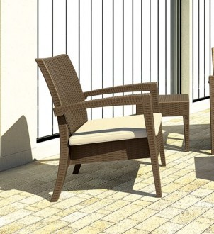 Fotel ogrodowy Miami Lounge
