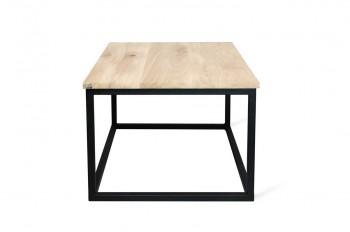 Stolik Cube z blatem z drewna litego