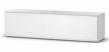 Stolik RTV ST160 WHT z białym frontem