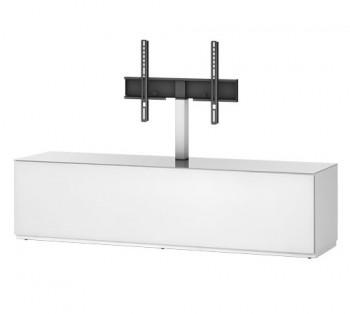 Stolik RTV ST161 WHT / biały front z uchwytem