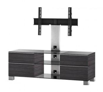 Stolik RTV MD8240 z uchwytem i drewnianym frontem
