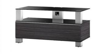 Stolik RTV MD9095 z drewnianym frontem