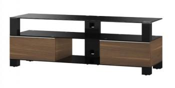Stolik RTV MD9140 z drewnianym frontem