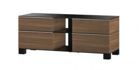 Stolik RTV MD9220 z drewnianym frontem