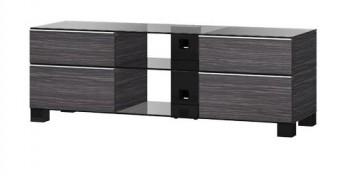 Stolik RTV MD9240 z drewnianym frontem