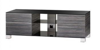 Stolik RTV MD9340 z drewnianym frontem