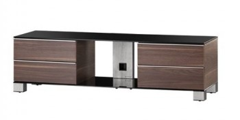 Stolik RTV MD9540 z drewnianym frontem