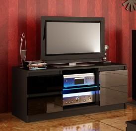 Szafka RTV w kolorze czarnym Adis 8