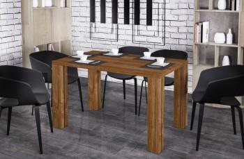 Stół Nisa 125 z blatem 80x80 rozkładany do 125 cm