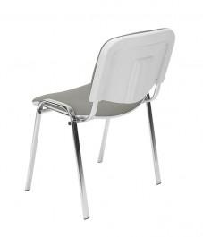 Krzesło Iso Bianco chrom