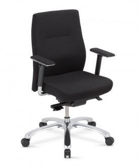 Krzesło biurowe z atestem do 150 kg Orlando UP 24/7