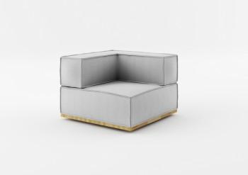 Fotel z jednym podłokietnikiem NOi Natural Absynth