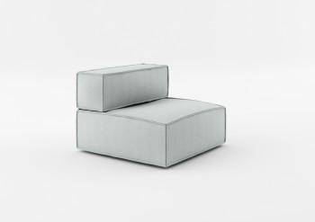 Fotel z jednym bokiem NOi Basic Absynth