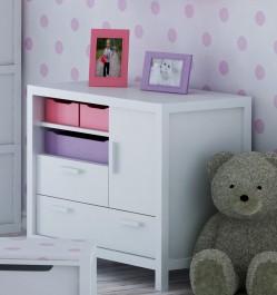 Komoda dziecięca z litego drewna Easy
