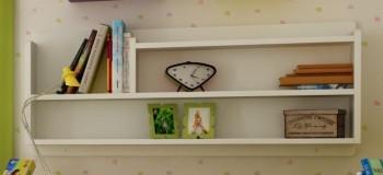 Półka dziecięca - nadstawka z litego drewna Easy