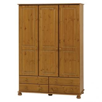Szafa 3-drzwiowa Richmond lite drewno
