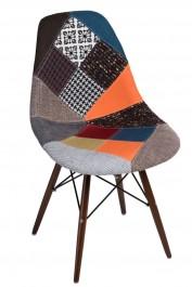 Krzesło P016W insp. DSW dark Patchwork