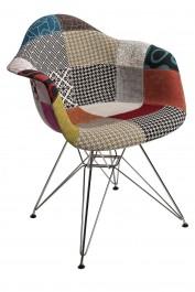 Krzesło P018 insp. DAR PatchWork kolorowy