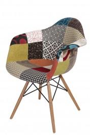 Krzesło P018W insp. DAW PatchWork kolorowy