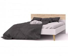 Łóżko Oslo 140x200 w stylu skandynawskim