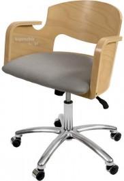Krzesło Vincent Obrotowe Wood Lux