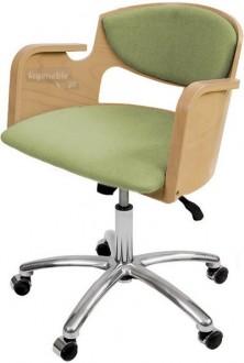 Krzesło Vincent Obrotowy Wood Lux No