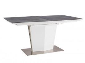 Szaro biały stół Lazzio