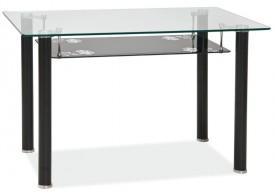 Stół ze szklanym blatem Pino