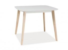 Stół na drewnianych nogach Tibi