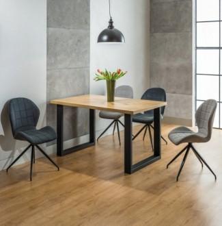 Stół do jadalni Umberto 150/90 w stylu industrialnym
