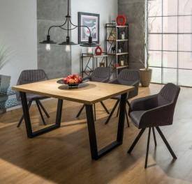 Stół Valentino 180/90 w stylu industrialnym