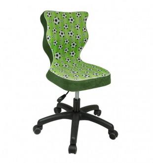 Krzesło z motywem dziecięcym Petit Black