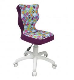 Krzesło Petit White z motywem dziecięcym