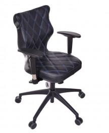 Krzesło obrotowe ze skóry Vero