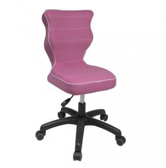 Obrotowe krzesło dziecięce Petit Black