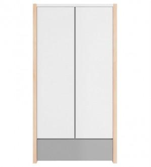 2-drzwiowa szafa do pokoju dziecięcego Pinette