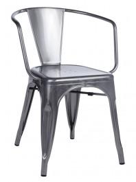 Metalowe krzesło Tower Arm
