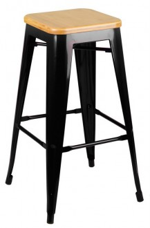 Metalowy hoker Tower Wood 75 cm