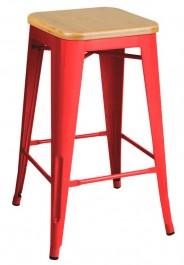 Metalowy hoker Tower Wood 65 cm