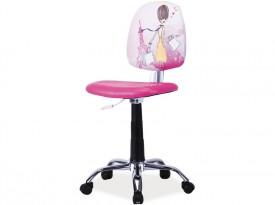 Krzesło obrotowe dla dziewczynki Grafi 2